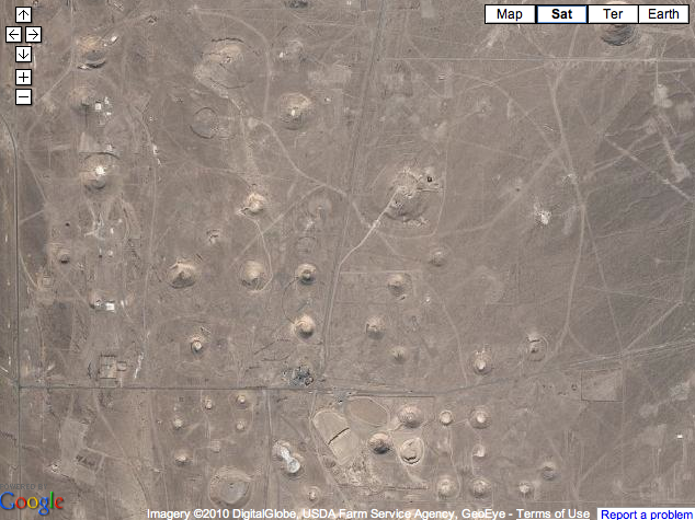 Nevada Nuclear Test Site