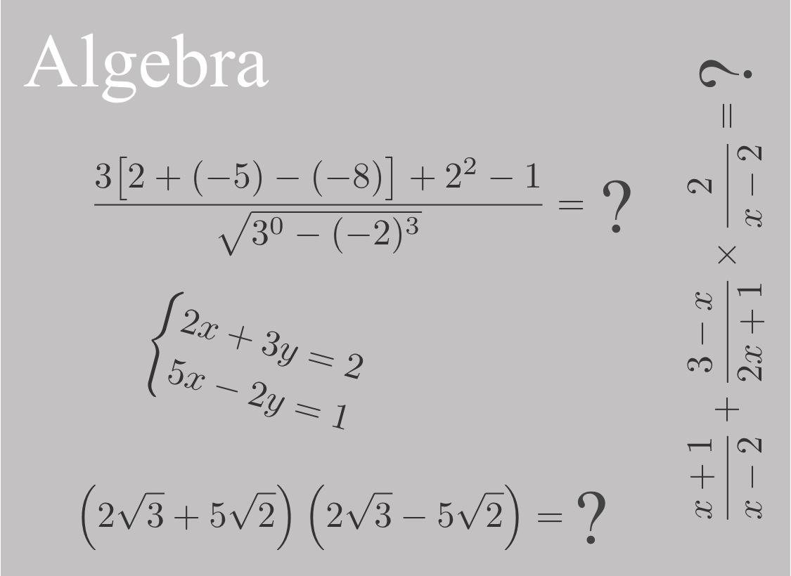 Entry Level Math Preparation