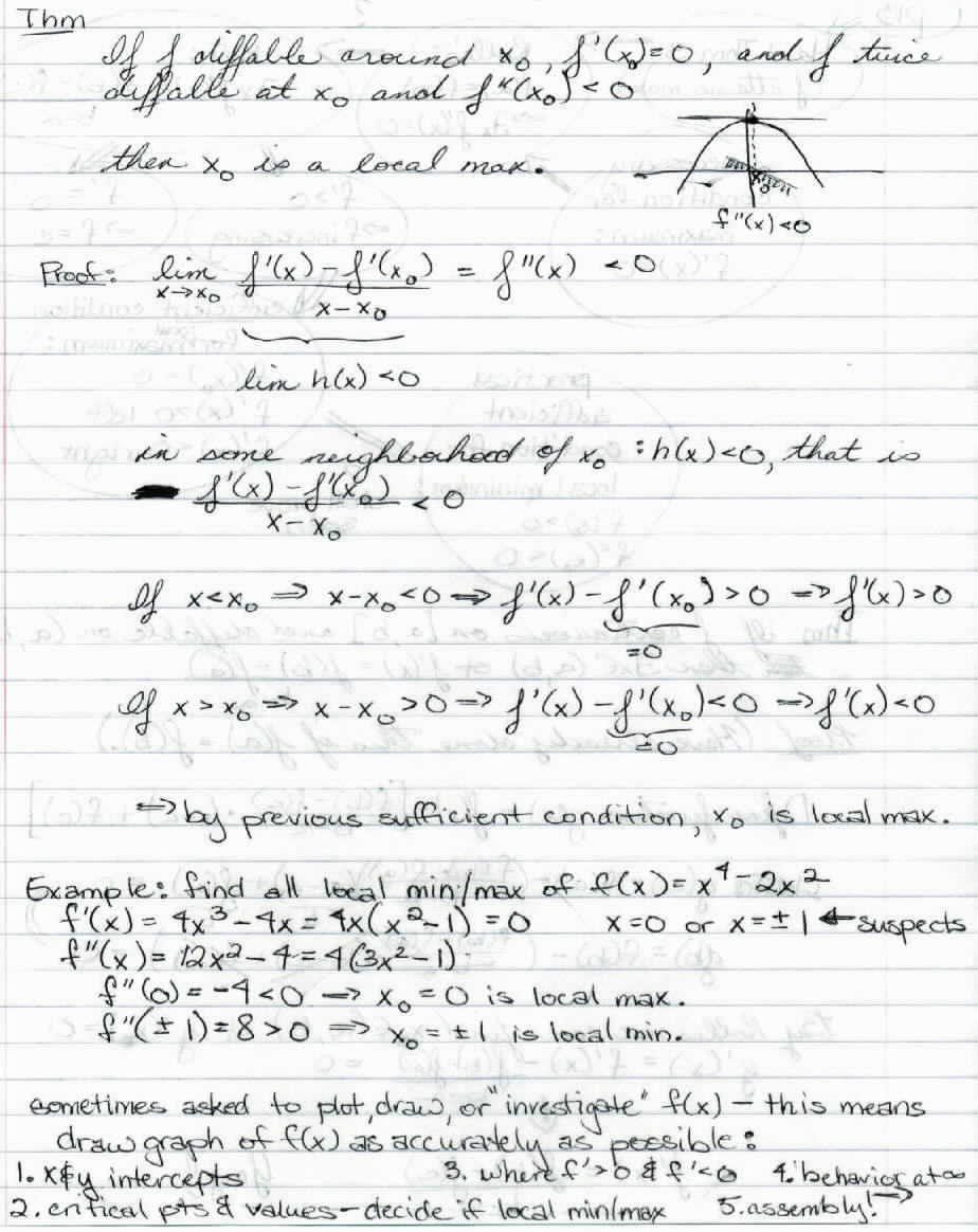 math 157 calculus class notes College of the holy cross math 133 calculus lecture notes as a courtesy to my students, i have scanned my personal lecture notes these are meant to complement your.